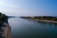 Budapest, Hungary. Danube and Margaret Island.
