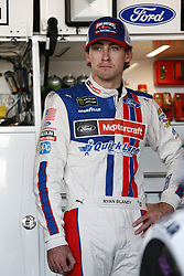 June 2, 2017 - Dover, DE, United States of America - June 02, 2017 - Dover, DE, USA: Ryan Blaney (21) hangs out in the garage prior to practice for the AAA 400 Drive for Autism at Dover International Speedway in Dover, DE. (Credit Image: © Justin R. Noe Asp Inc/ASP via ZUMA Wire)