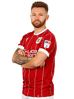Matty Taylor of Bristol City   - Mandatory by-line: Matt McNulty/JMP - 01/08/2017 - FOOTBALL - Ashton Gate - Bristol, England - Bristol City Headshots