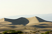 Sand Dunes at Stove Pipe Wells, Death Valley National Park.  California, USA