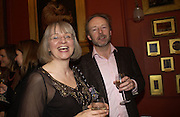 Phillipa Perry and Julian Perry. Grayson Perry by Wendy Jones launch party. Leighton House. Holland Park. London. 17 January 2006. January 2006.  ONE TIME USE ONLY - DO NOT ARCHIVE  © Copyright Photograph by Dafydd Jones 66 Stockwell Park Rd. London SW9 0DA Tel 020 7733 0108 www.dafjones.com