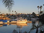 Balboa Cove In Newport Beach California