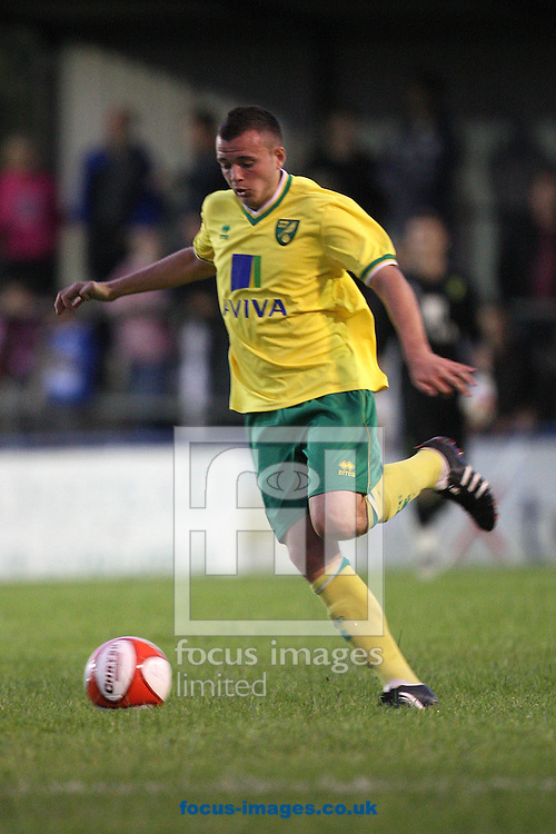 Newman Carney of Norwich in action during a pre season friendly at New Lodge Stadium, Billericay...Picture by Paul Chesterton/Focus Images Ltd.  07904 640267.4/8/11