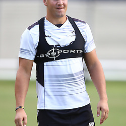 DURBAN, SOUTH AFRICA,7,MARCH, 2016 - Etienne Oosthuizen during The Cell C Sharks training session  at Growthpoint Kings Park in Durban, South Africa. (Photo by Steve Haag)<br /> <br /> images for social media must have consent from Steve Haag