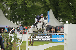 Blum, Simone, Cash<br /> München - Pferd International 2013<br /> Grosser Preis<br /> © www.sportfotos-lafrentz.de/Stefan Lafrentz
