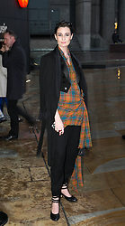 The Fashion World of Jean Paul Gaultier. Erin O'Connor attends the theatrically-staged exhibition The Fashion World of Jean Paul Gaultier at Barbican, London, United Kingdom. Monday, 7th April 2014. Picture by Daniel Leal-Olivas / i-Images