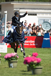 Lamaze Eric (CAN) - Powerplay<br /> Winner of the Grand Prix Longines de la Ville de La Baule<br /> Longines Jumping International La Baule 2014<br /> © Hippo Foto - Dirk Caremans