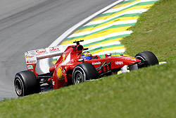 25.11.2011 Autodromo Jose Carlos Pace, Sao Paulo, BRA, F1 Grosser Preis von Brasilien, im Bild Massa (BRA), Scuderia Ferrari // during the Formula One Championships 2011 Large price of Abu Dhabi held at the Yas-Marina-Circuit, 2011/11/12. EXPA Pictures © 2011, PhotoCredit: EXPA/ nph/ Dieter Mathis..***** ATTENTION - OUT OF GER, CRO *****