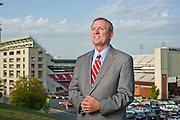 eff Long, University of Arkansas Athletic Director. Editorial portrait of University of Arkansas athletic director Jeff Long.