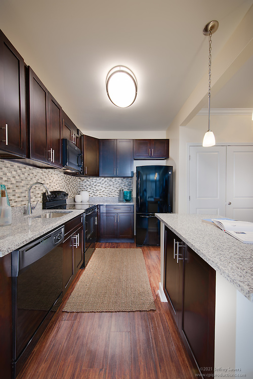 Interior image of the Links at Gleneagles Apartments in Waldorf Maryland by Jeffrey Sauers of Commercial Photographics, Architectural Photo Artistry in Washington DC, Virginia to Florida and PA to New England