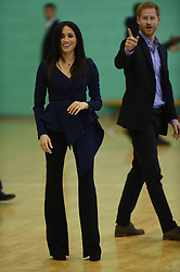 The Duke and Duchess of Sussex attend the Coach Core Awards at Loughborough University.