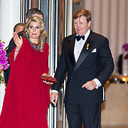 LUX/Luxemburg/20180524 - Staatsbezoek Luxemburg dag 2, Koningin Maxima en Koning Willem Alexander