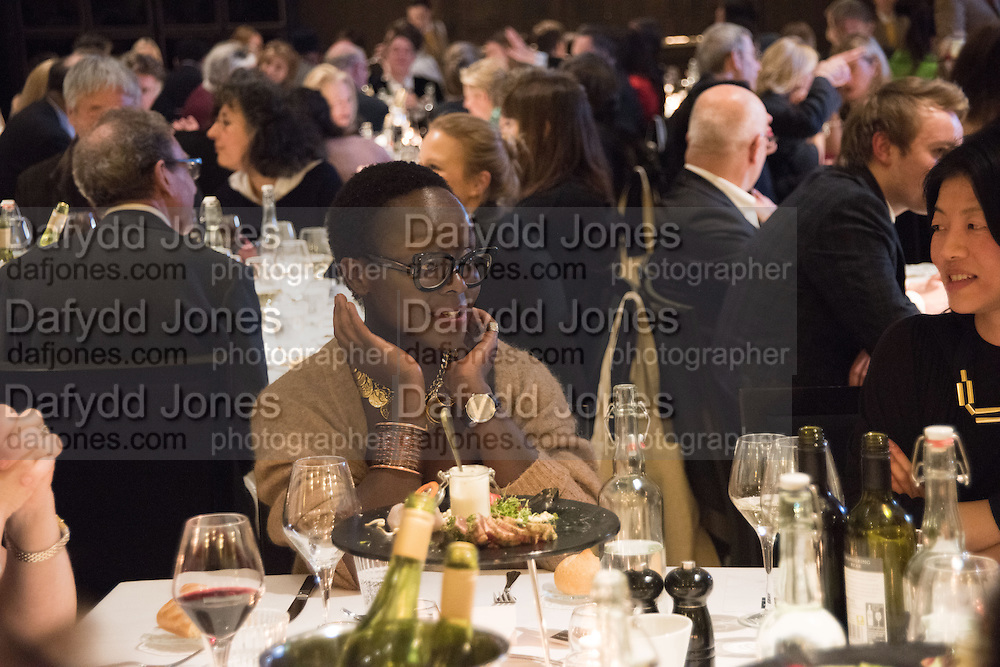LYNETTE YIACOM-BOAKYE, Whitechapel Gallery Art Icon 2015 Gala dinner supported by the Swarovski Foundation. The Banking Hall, Cornhill, London. 19 March 2015