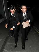 20.MARCH. LONDON<br /> <br /> MARK WRIGHT AND RYAN THOMAS WHO IS HOLDING A CLUTCH BAG LEAVING ROCHELLE WISEMAN'S 23RD BIRTHDAY PARTY AT AURA NIGHT CLUB IN MAYFAIR LOOKING A LITTLE WORSE FOR WEAR. <br /> <br /> BYLINE: EDBIMAGEARCHIVE.COM<br /> <br /> *THIS IMAGE IS STRICTLY FOR UK NEWSPAPERS AND MAGAZINES ONLY*<br /> *FOR WORLD WIDE SALES AND WEB USE PLEASE CONTACT EDBIMAGEARCHIVE - 0208 954 5968*