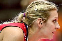 24-09-2014 ITA: World ChampionshipVolleyball Kazachstan - USA, Verona<br /> USA wint met 3-0 / Christa Dietzen Harmotto