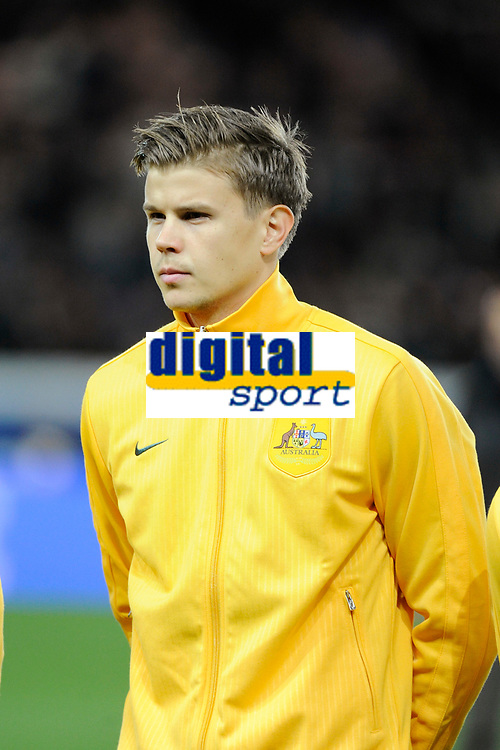 Australia's Mitchell Langerak before the International football Friendly Game 2013/2014 between France and Australia on October 11, 2013 in Paris, France. Photo Jean Marie Hervio / Regamedia/ DPPI