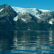 Harris Peninsula at the edge of Aialik Bay in Kenai Fjords National Park Alaska