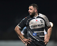 Chris Dicomidis of Pontypridd<br /> <br /> Photographer Mike Jones/Replay Images<br /> <br /> Principality Premiership - Neath v Pontypridd - Friday 16th March 2018 - The Gnoll Neath<br /> <br /> World Copyright © Replay Images . All rights reserved. info@replayimages.co.uk - http://replayimages.co.uk