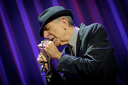 Dec. 4, 2012 - Toronto, Ontario, Canada - Canadian singer-songwriter, musician, poet, and novelist LEONARD COHEN performed at Air Canada Centre in Toronto (Credit Image: © Igor Vidyashev/ZUMAPRESS.com)
