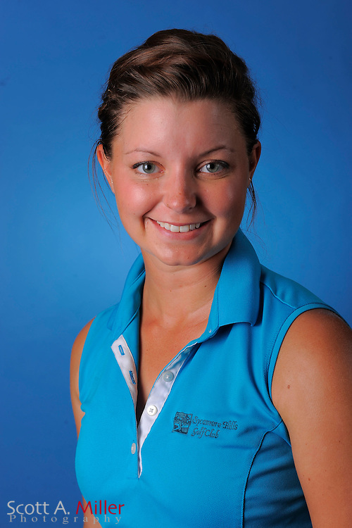 Lyndsay McBride during a portrait session prior to the second stage of LPGA Qualifying School at the Plantation Golf and Country Club on Sept. 25, 2011 in Venice, FL...©2011 Scott A. Miller