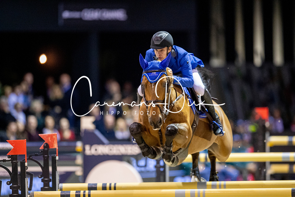 Bles Bart, NED, Kriskras DV<br /> Jumping International de Bordeaux 2020<br /> © Hippo Foto - Dirk Caremans<br />  08/02/2020