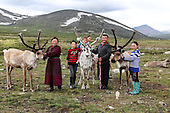 Stunning images reindeer herders of Mongolia