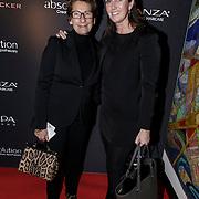 NLD/Laren/20150124 - Modeshow Addy van den Krommenacker Fall Winter 2015 'London revisited', Janine van den Ende - Klijburg