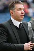 Photo: Steve Bond/Richard Lane Photography. Preston North End v Cardiff City. Coca Cola Championship. 27/02/2010. Darren Ferguson on the touchline