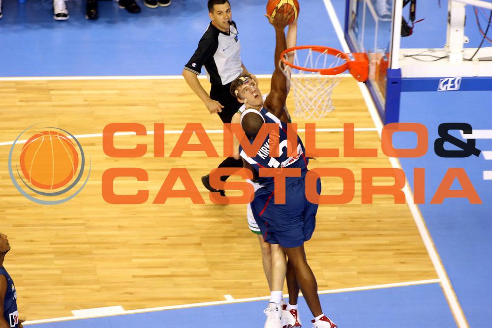 DESCRIZIONE : Alicante Spagna Spain Eurobasket Men 2007 Slovenia Francia Slovenia France <br />GIOCATORE : Goran Dragic<br />SQUADRA : Slovenia<br />EVENTO : Eurobasket Men 2007 Campionati Europei Uomini 2007 <br />GARA : Slovenia Francia Slovenia France <br />DATA : 05/09/2007 <br />CATEGORIA : Tiro <br />SPORT : Pallacanestro <br />AUTORE : Ciamillo&amp;Castoria/M.Ciamillo<br />Galleria : Eurobasket Men 2007 <br />Fotonotizia : Alicante Spagna Spain Eurobasket Men 2007 Slovenia Francia Slovenia France <br />Predefinita :