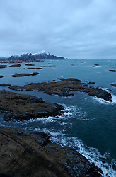 NORWAY ANDENES 8DEC15 - General view of the town and coast of Andenes, Norway.<br /> <br /> jre/Photo by Jiri Rezac / Greenpeace<br /> <br /> © Jiri Rezac 2015