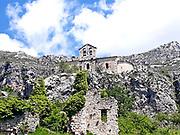 Gréolières France ruins