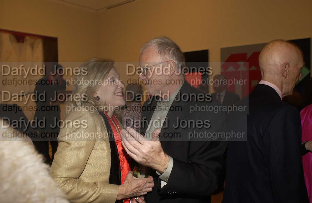 Dame Jillian Sackler and Paul Huxley, Royal Academicians in China: 2003-2005. Royal academy. 11  January 2006. ONE TIME USE ONLY - DO NOT ARCHIVE  © Copyright Photograph by Dafydd Jones 66 Stockwell Park Rd. London SW9 0DA Tel 020 7733 0108 www.dafjones.com