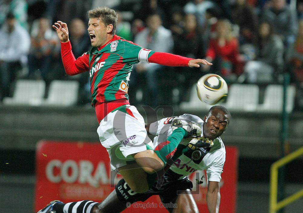 Liga Portuguesa, Estadio da Madeira.Nacional vs Maritimo.Briguel e Mateus.Foto Gregorio Cunha