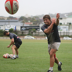 DURBAN, SOUTH AFRICA - OCTOBER 04,  during the Sharks training session at Absa Stadium on October 04, 2010 in Durban, South Africa.<br /> Photo by Steve Haag / Gallo Images