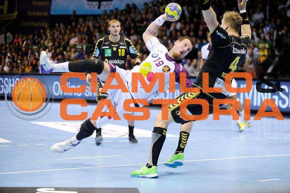 DESCRIZIONE : HandbaLL Cup Finale EHF Homme<br /> GIOCATORE : Borja FERNANDEZ<br /> SQUADRA : Nantes <br /> EVENTO : Coupe EHF Finale<br /> GARA : NANTES Rhein Neckar<br /> DATA : 19 05 2013<br /> CATEGORIA : Handball Homme<br /> SPORT : Handball<br /> AUTORE : JF Molliere <br /> Galleria : France Hand 2012-2013 Action<br /> Fotonotizia : HandbaLL Cup Finale EHF Homme<br /> Predefinita :