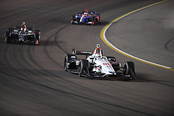 April 6, 2018 - Phoenix, AZ, U.S. - PHOENIX, AZ - APRIL 07: Driver Marco Andretti comes in at twelfth place in the Verizon IndyCar Series Desert Diamond West Valley Casino Phoenix Grand Prix on April 7, 2018, at ISM Raceway in Phoenix, AZ. (Photo by Grant Exline/Icon Sportswire) (Credit Image: © Grant Exline/Icon SMI via ZUMA Press)