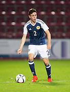 Scotland's Liam Smith during Scotland Under-21 v FYR Macedonia,  UEFA Under 21 championship qualifier  at Tynecastle, Edinburgh. Photo: David Young<br /> <br />  - © David Young - www.davidyoungphoto.co.uk - email: davidyoungphoto@gmail.com