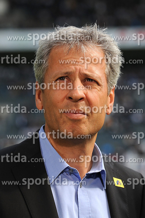 15.09.2012, Borussia Park, Moenchengladbach, GER, 1. FBL, Borussia Moenchengladbach vs 1. FC Nuernberg, 03. Runde, im Bild Trainer Lucien Favre ( Borussia Moenchengladbach/ Portrait ) // during the German Bundesliga 03rd round match between Borussia Moenchengladbach and 1. FC Nuernberg at the Borussia Park, Moenchengladbach, Germany on 2012/09/15. EXPA Pictures © 2012, PhotoCredit: EXPA/ Eibner/ Thomas Thienel..***** ATTENTION - OUT OF GER *****