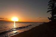 Sunset seen from the Hyatt Beach, Maui Hawaii