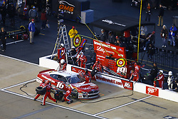 April 20, 2018 - Richmond, Virginia, United States of America - April 20, 2018 - Richmond, Virginia, USA: Ryan Reed (16) brings his car down pit road for service during the ToyotaCare 250 at Richmond Raceway in Richmond, Virginia. (Credit Image: © Chris Owens Asp Inc/ASP via ZUMA Wire)