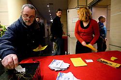 na okrogli mizi na temo o realnosti nasih pricakovanj pred olimpijskimi igrami v Vancouvru 2010, izzivih, priloznostih in problematiki v slovenskem alpskem smucanju v organizaciji SportForum Slovenija, 25. januar 2010, Austria Trend Hotel, Ljubljana, Slovenija. (Photo by Vid Ponikvar / Sportida)