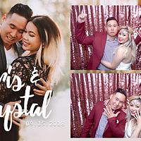Krystal & Chris Photo Booth