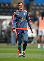 Jack Cork of Swansea City - Mandatory byline: Alex James/JMP - 07966 386802 - 04/10/2015 - FOOTBALL - Liberty stadium - Swansea, England - Swansea City  v Tottenham hotspur - Barclays Premier League