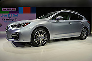 The 2017 Subaru Impreza five-door hatch sport is unveiled at the New York International Auto Show 2016, at the Jacob Javits Center. This was Press Preview Day one of NYIAS, and the Trade Show will be open to the public for ten days, March 25th through April 3rd.