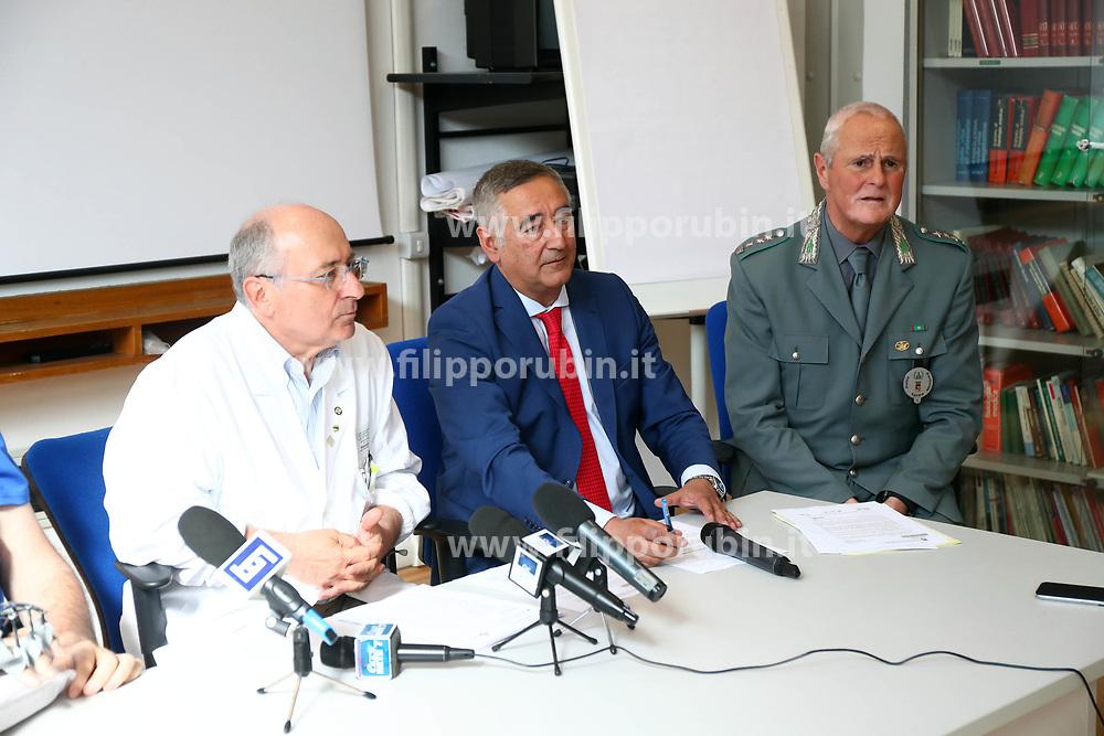DA SX NINO BASAGLIA ALBERTO BOVA CLAUDIO CASTAGNOLI<br /> CONFERENZA STAMPA MARCO RAVAGLIA