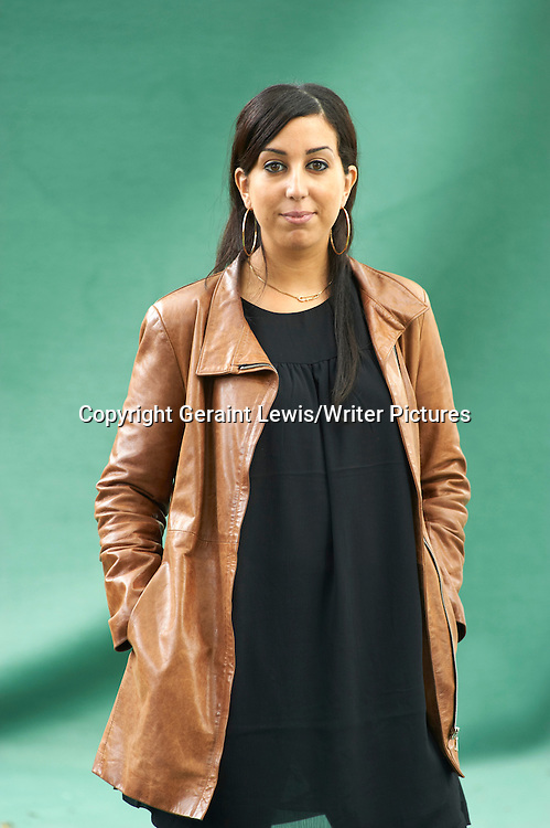 Faiza Guene, novelist and writer of the book Bar Balto at The Edinburgh International Book Festival 2011.  Picture taken 17/08/2011<br /> <br /> Credit Geraint Lewis/Writer Pictures