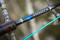 Spey rod from Jefferson Rod Company.