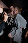 KAROLINA NORGATE; GWENDOLINE CHRISTIE, The afterparty following the press night of 'Breakfast At Tiffany's' The Swimming pool,  Haymarket Hotel, London. September 29  2009.