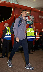 NEWCASTLE-UPON-TYNE, ENGLAND - Saturday, May 4, 2019: Liverpool's Dejan Lovren arrives ahead of the FA Premier League match between Newcastle United FC and Liverpool FC at St. James' Park. (Pic by David Rawcliffe/Propaganda)