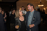 BRIX SMITH-START, ; SIMON BAKER; Preview of Pad. Berkeley Sq. London. 12 October 2015